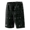 ADIDAS Boys` Essex Trend Bermuda Tennis Short Black and White