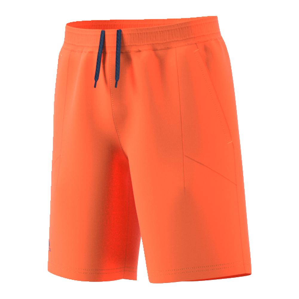 Boys ` Melbourne Bermuda Tennis Short Glow Orange