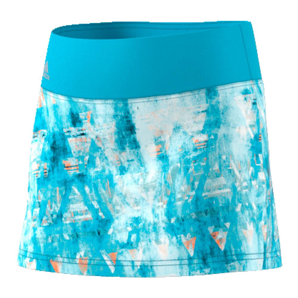 Girls ` Essex Trend Tennis Skirt Samba Blue Print