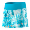 ADIDAS Girls` Essex Trend Tennis Skirt Samba Blue Print