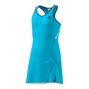 Girls` Melbourne Tennis Dress Samba Blue