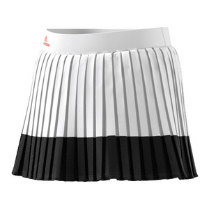 Girls` Stella McCartney Barricade Tennis Skirt White and Black