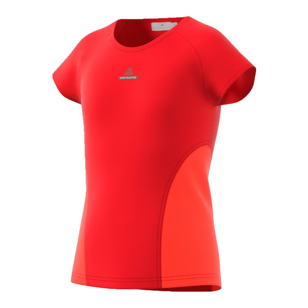 Girls'stella Mccartney Barricade Tennis Tee Red