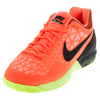 NIKE Men`s Zoom Cage 2 Tennis Shoes Hyper Orange and Lava Glow