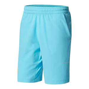 Men`s Barricade Bermuda Tennis Short Samba Blue and Glow Orange