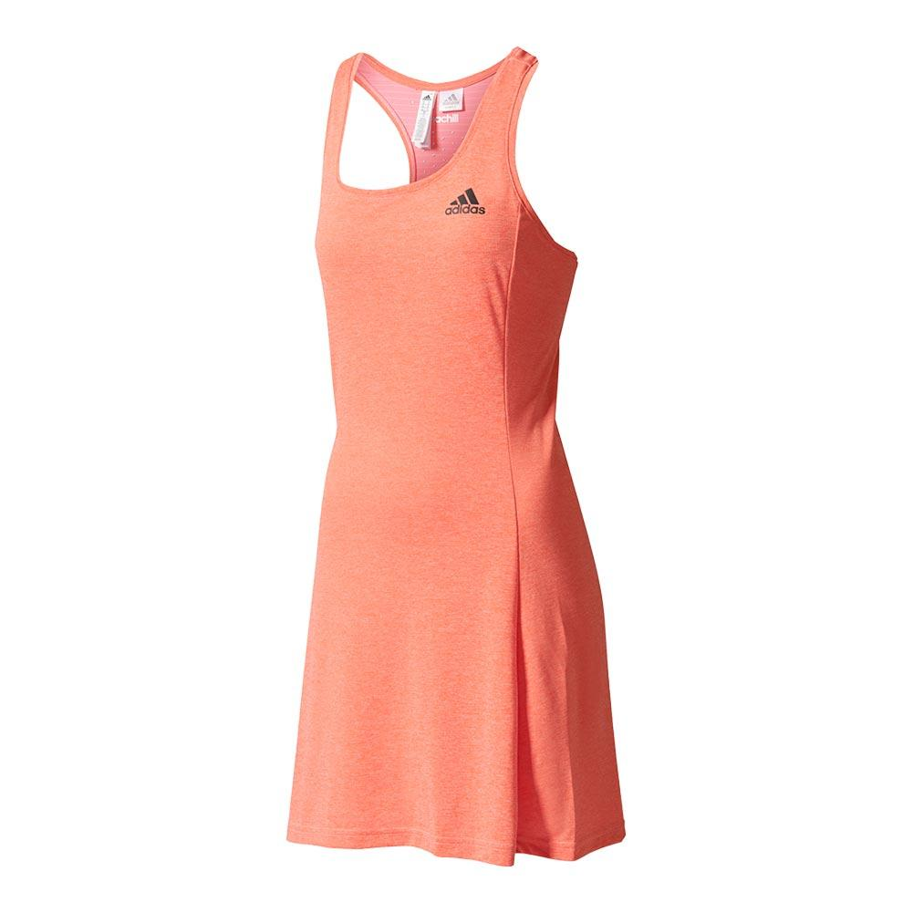 Women's Climachill Tennis Dress Easy Coral