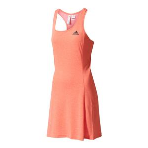Women`s Climachill Tennis Dress Easy Coral