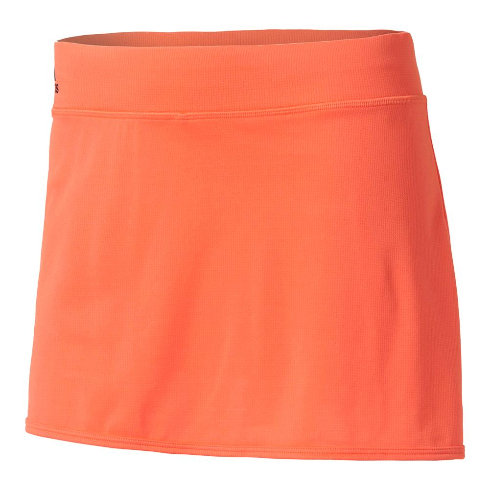Women's Climachill Tennis Skirt Easy Coral