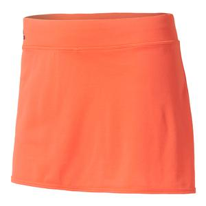 Women`s Climachill Tennis Skirt Easy Coral