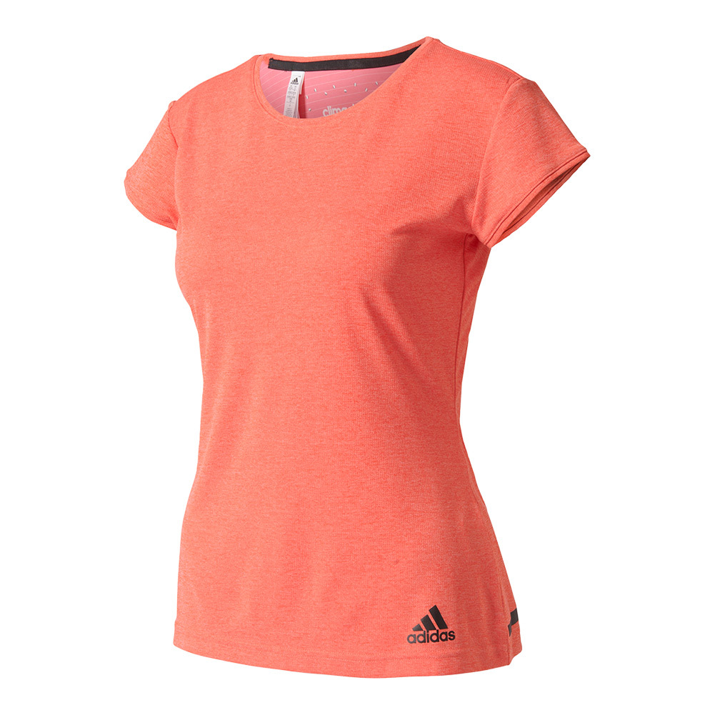 Women's Climachill Tennis Tee Chill Easy Pink