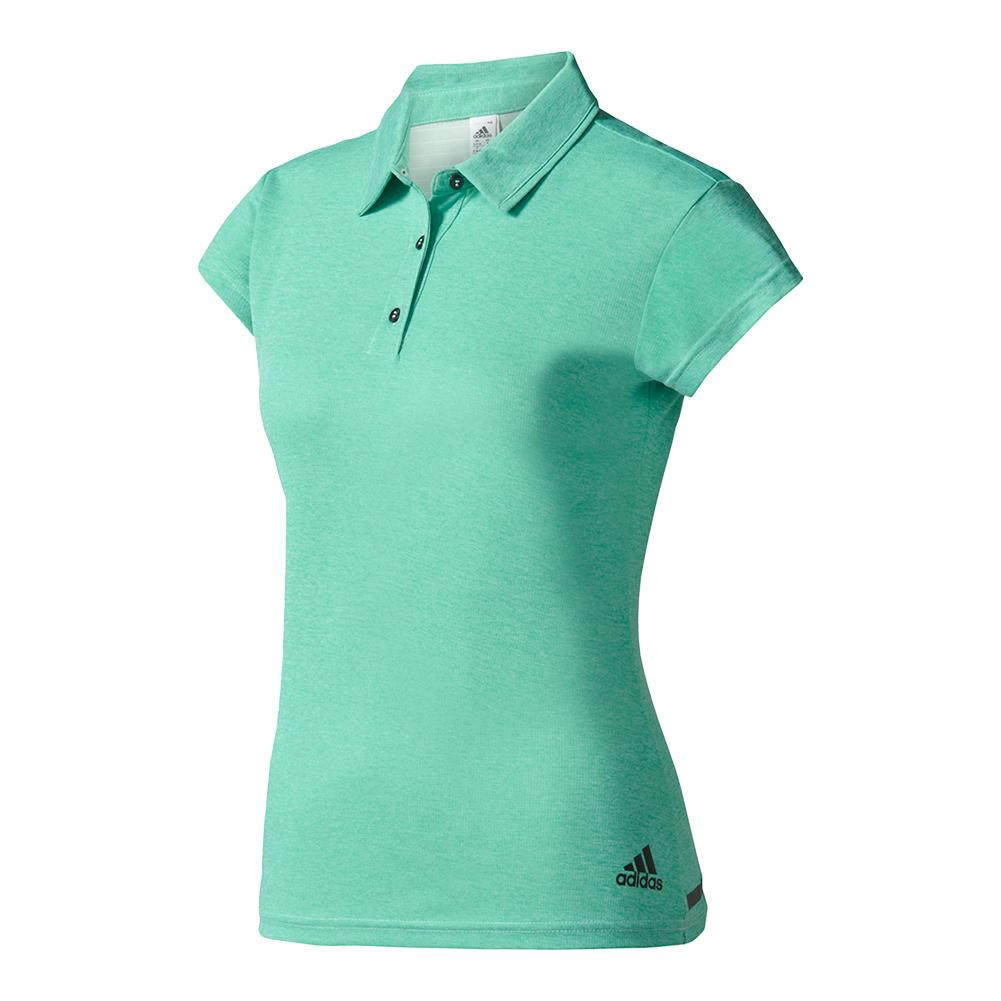 Women's Climachill Tennis Polo Chill Linen Green