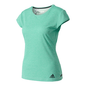 Women`s Climachill Tennis Tee Chill Core Green