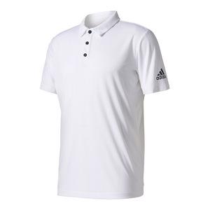 Men`s Uncontrol Climachill Tennis Polo White