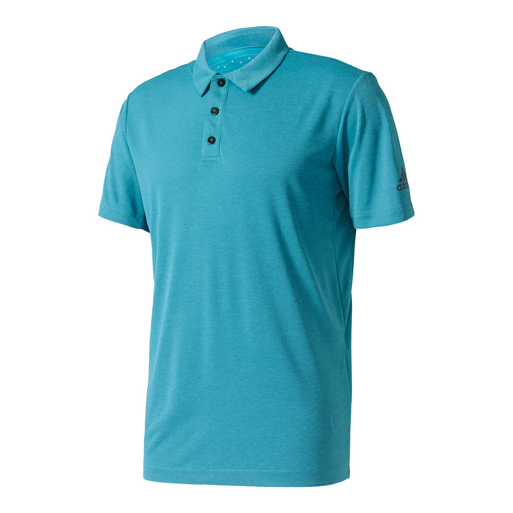 Men's Uncontrol Climachill Tennis Polo Chill Eqt Blue