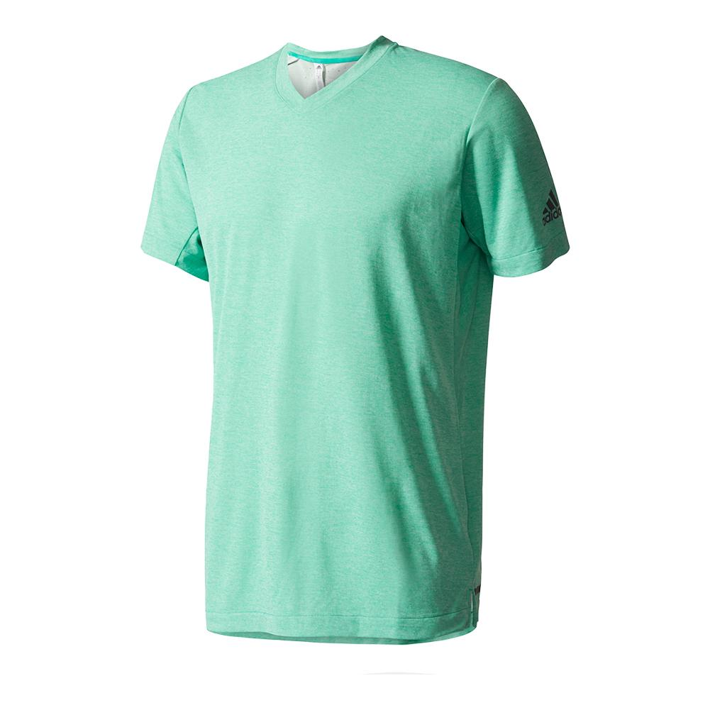 Men's Uncontrol Climachill Tennis Tee Chill Core Green