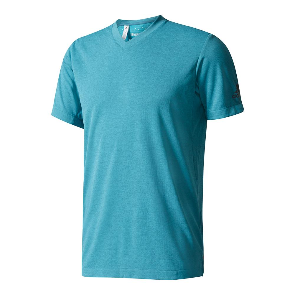 Men's Uncontrol Climachill Tennis Tee Chill Tech Green