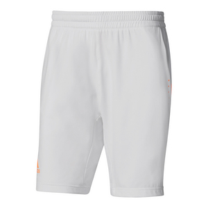 Men`s Barricade Tennis Short White and Glow Orange