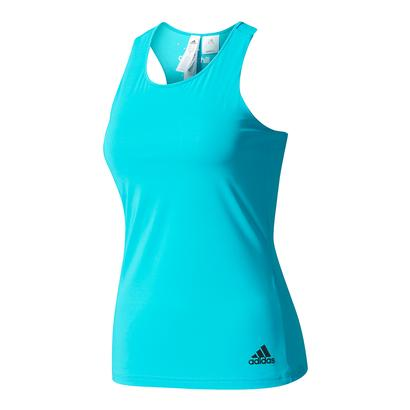 Women`s Climachill Tennis Tank Lab Green