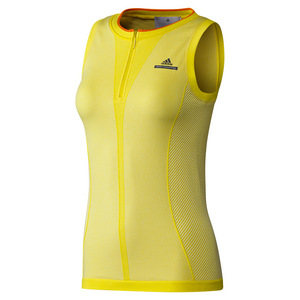 Women`s Stella McCartney Barricade Tennis Tank Bright Yellow and White