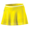 ADIDAS Women`s Stella McCartney Barricade 12.5 Inch Tennis Skirt Bright Yellow