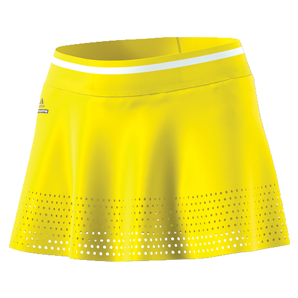 Women's Stella Mccartney Barricade 14 Inch Tennis Skirt Bright Yellow