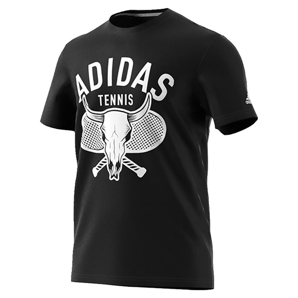 Men's Desert Tennis Tee Black