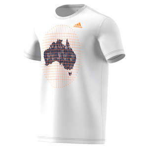 Men`s Aussie Open Tennis Tee White