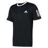 ADIDAS Men`s Club Tennis Tee Black and White