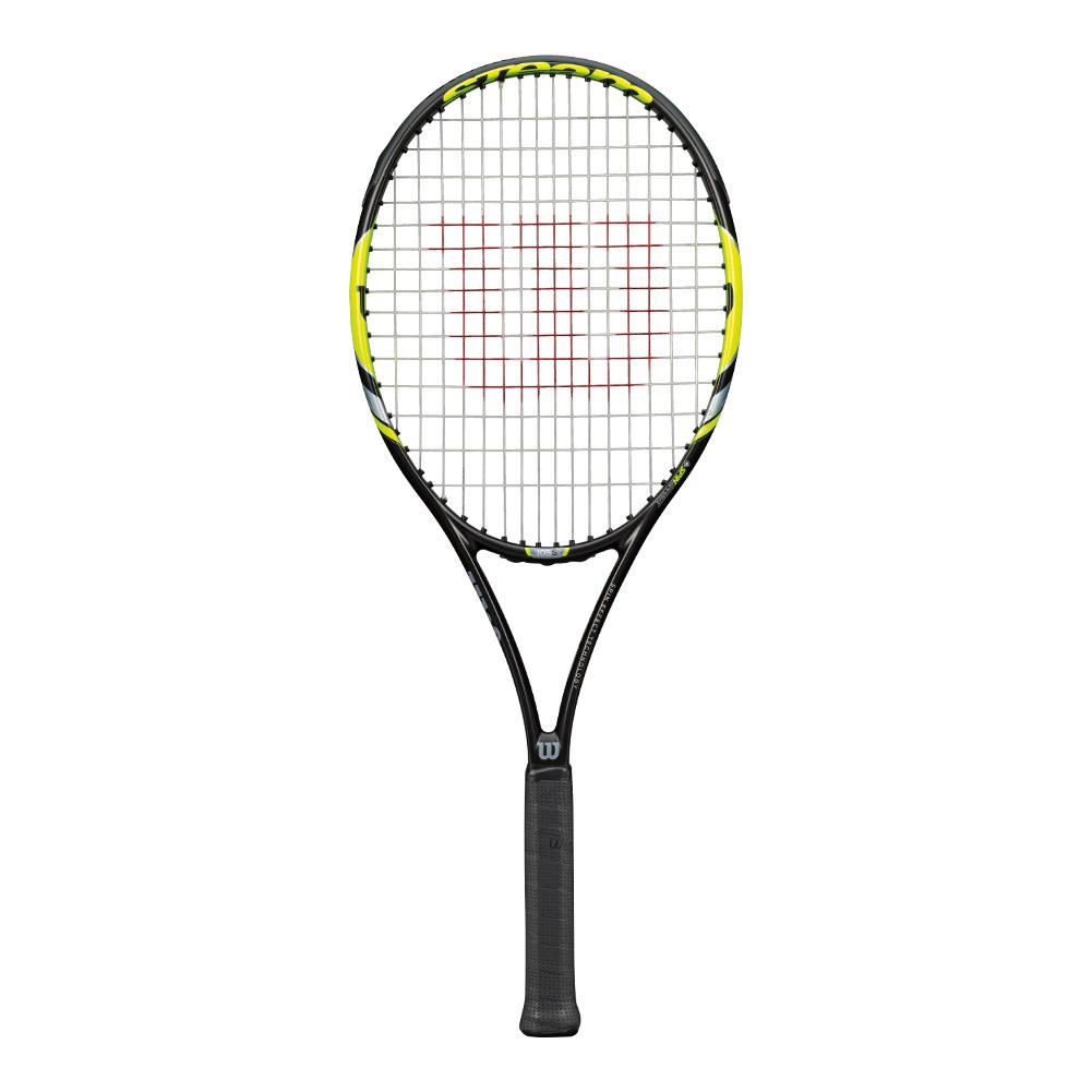 Steam 105s Yellow Tennis Racquet