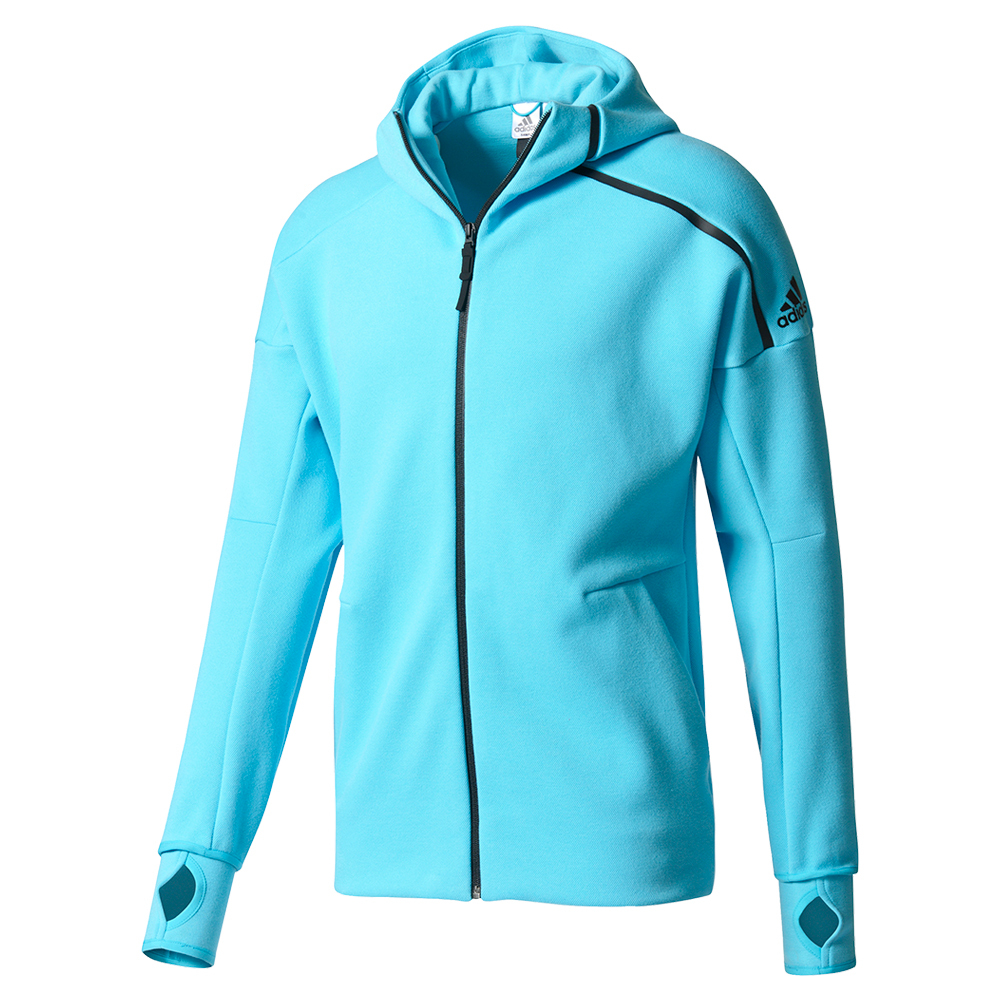 Men's Zero Negative Energy Tennis Hoodie Samba Blue
