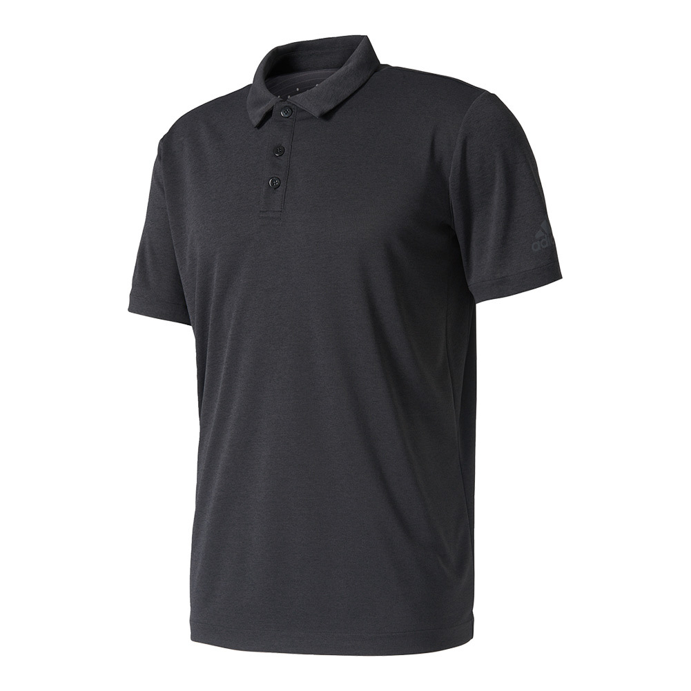 Men's Uncontrol Climachill Tennis Polo Chill Black Melange