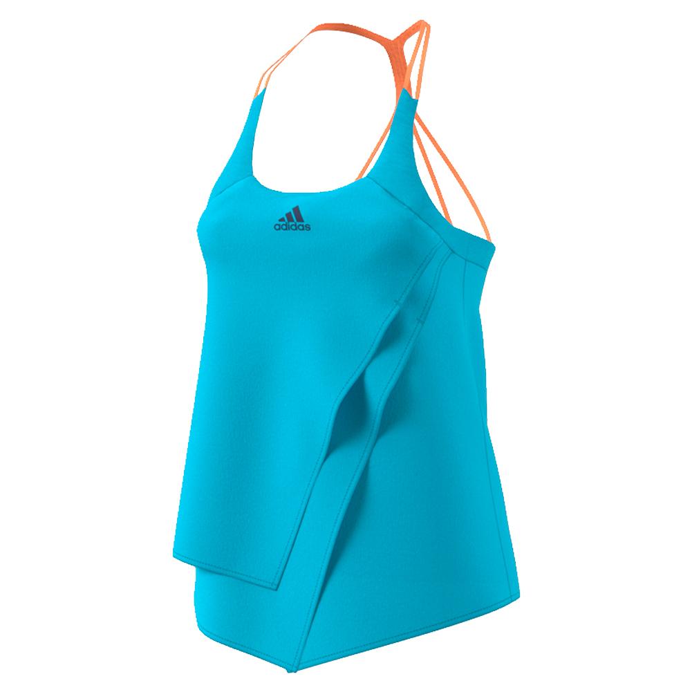 Women's Melbourne Tennis Tank Samba Blue