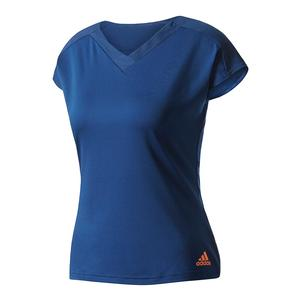 Women`s Melbourne Tennis Tee Mystery Blue