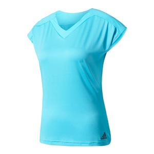 Women`s Melbourne Tennis Tee Samba Blue