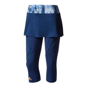 Women`s Melbourne Tennis Skirt Leggings Mystery Blue