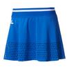 ADIDAS Women`s Stella McCartney Barricade 14 Inch Tennis Skirt Bold Blue