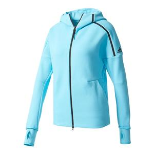 Women`s Zero Negative Energy Tennis Hoodie Samba Blue