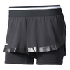 ADIDAS Women`s Stella McCartney Barricade Tennis Short Black
