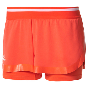 Women`s Stella McCartney Barricade Tennis Short Bright Red