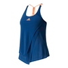 ADIDAS Women`s Melbourne Tennis Tank Mystery Blue