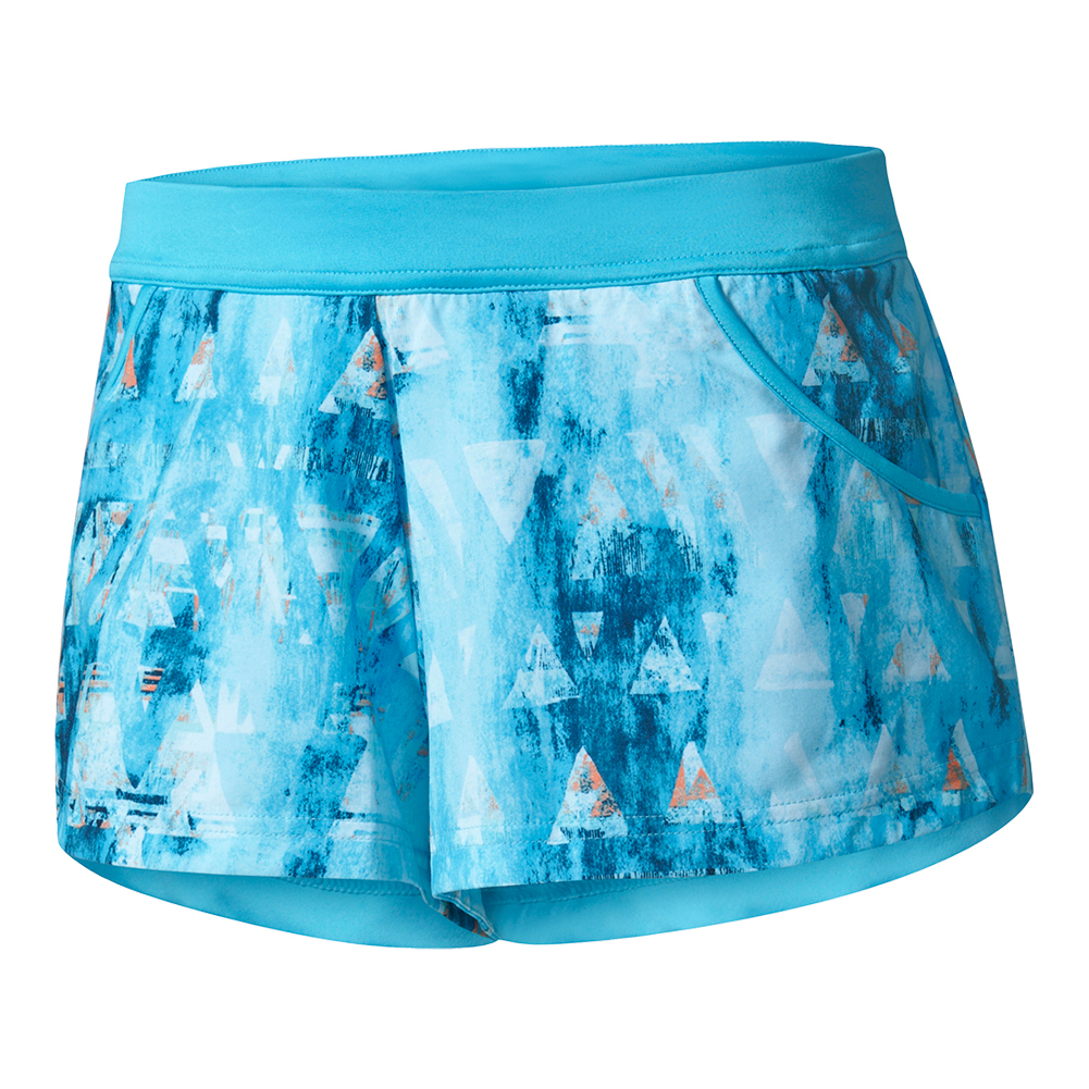 Women's Melbourne Tennis Short Samba Blue