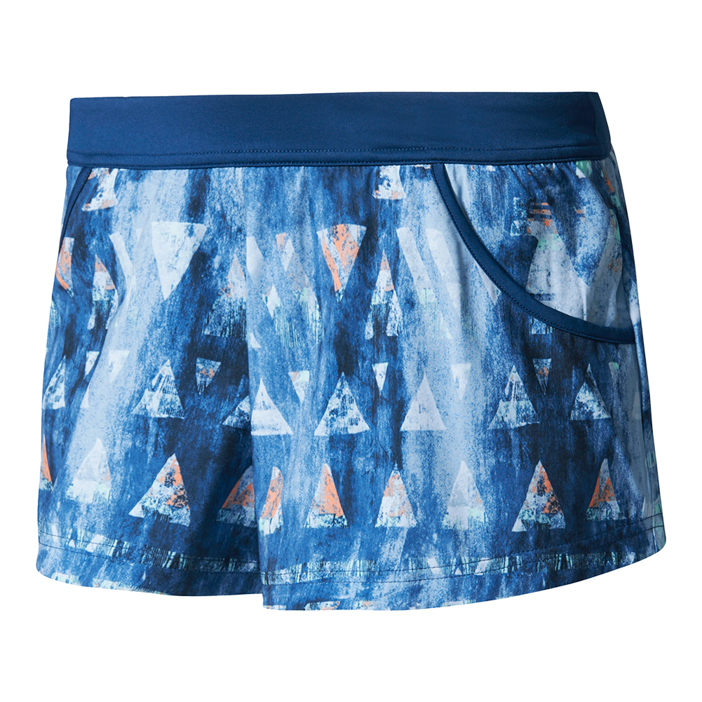 Women's Melbourne Tennis Short Mystery Blue