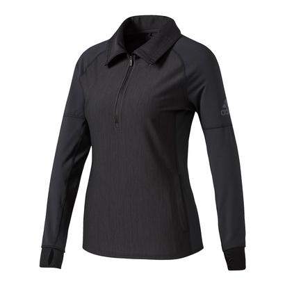 Women`s Performer Baseline Quarter Zip Top Black