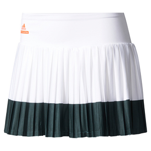 Women`s Stella McCartney Barricade Tennis Skirt 2 White and Black
