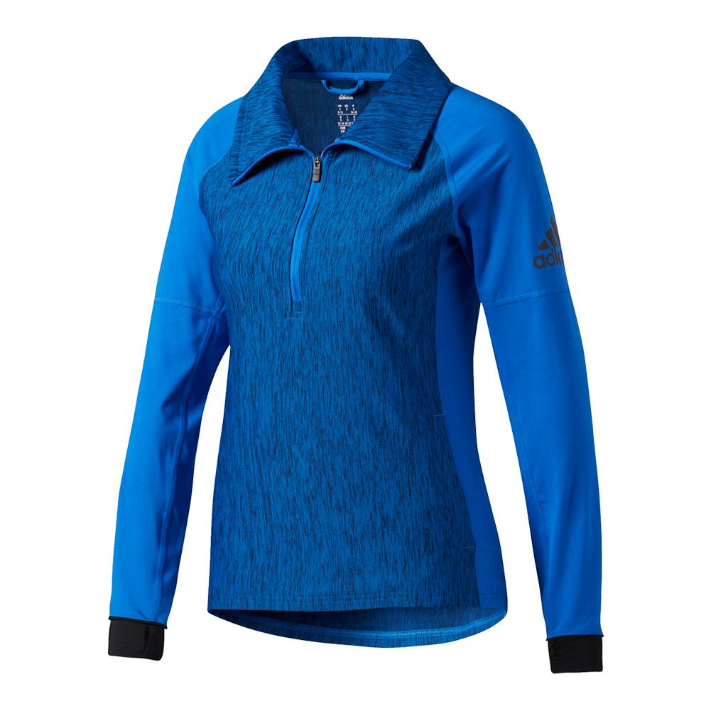 Women's Performer Baseline Quarter Zip Top Blue