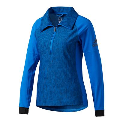 Women`s Performer Baseline Quarter Zip Top Blue