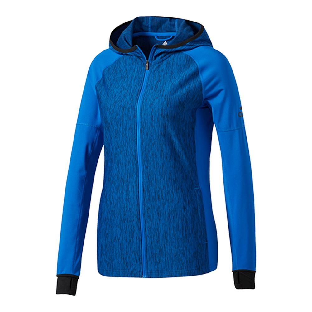 Women's Performer Baseline Full- Zip Hoodie Blue And Collegiate Navy