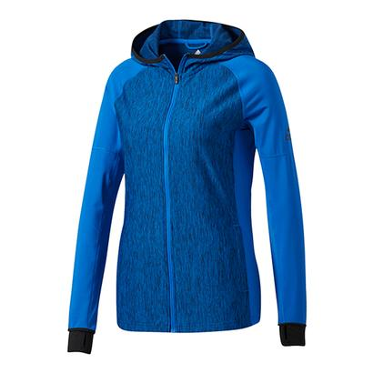 Women`s Performer Baseline Full-Zip Hoodie Blue and Collegiate Navy