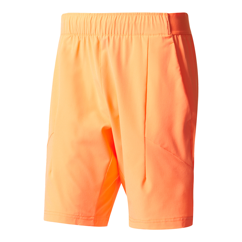Men's Melbourne Bermuda Tennis Short Glow Orange