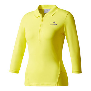 Women`s Stella McCartney Barricade Long Sleeve Tennis Top Bright Yellow